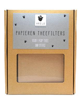 Papieren Theefilter - 100 stuks