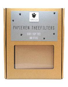 Papieren theefilters 100x
